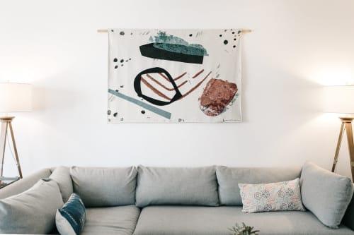 Art & Wall Decor by K'era Morgan seen at Private Residence, Santa Monica - Woven Wall Tapestry
