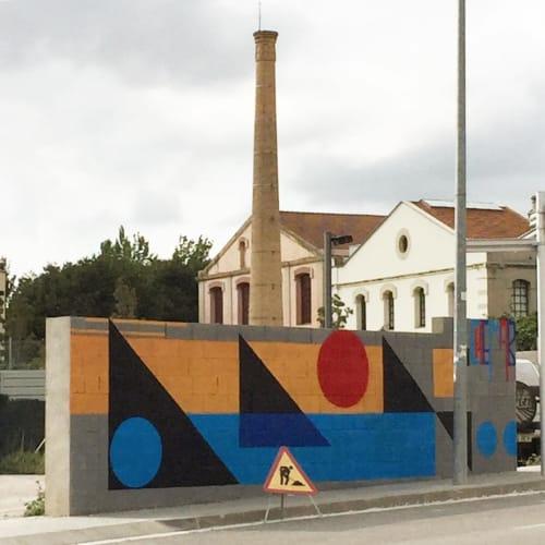 Street Murals by Chema-b* (Chemapiko) seen at Igualada, Igualada - Outdoor Mural