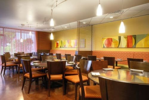 Art Curation by Victoria Johnson seen at Facing East | Taiwanese Restaurant, Bellevue - Facing East Restaurant