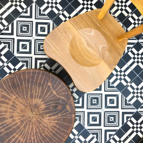 Tiles by Design and Direct Source seen at Westfield Century City, Los Angeles - Custom Deco Tile