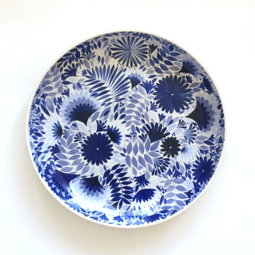 Ceramic Plates by Anastasia Tumanova seen at San Francisco, CA, San Francisco - Bluette Platter