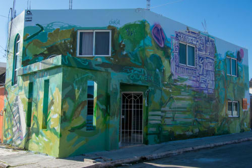 Art Curation by PAULA CALAVERA seen at Avenida Fidel Velázquez, Campeche - Ciudad Mural