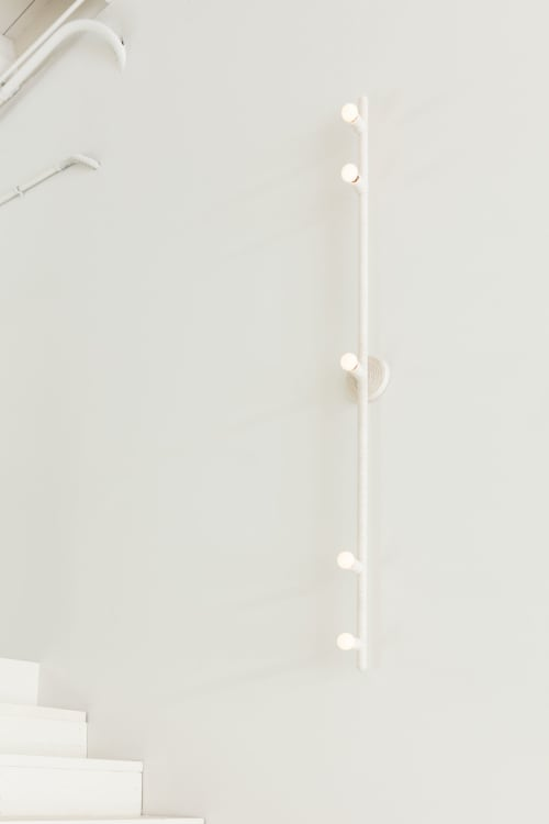 Sconces by Cuff Studio seen at Creator's Studio, Los Angeles - Five Track Sconce