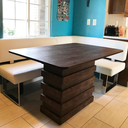 Tables by The Awesome Orange seen at Private Residence, Phoenix - Custom Dining Table