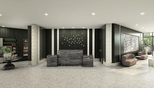Interior Design by MONIOMI seen at AC Hotel by Marriott Miami Midtown, Miami - AC Hotel by Marriott Miami Midtown