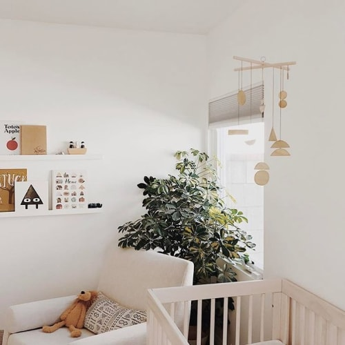 Wall Hangings by Electric Sun Creatives by Sarah Perez seen at Private Residence, Los Angeles - Mobile Hanging