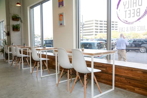 See The Daily Beet | Banquette Seating by GoodWood at The Daily Beet Banquette New Orleans on