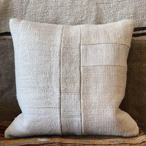 Vintage Hemp Patchwork Pillows   Pillows by HOME   MERCHANT in Santa Monica