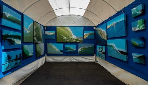 Ed Obermeyer/Fine Art Painter/Surf Photographer - Art Curation and Renovation