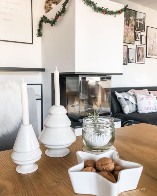 Vases & Vessels by Kähler Design seen at Kristina Tereza's Home - Candle Holders