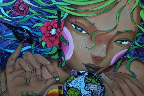 Utopia artist - Murals and Art