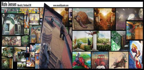 Nate Jensen - Murals and Art