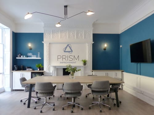 Interior Design by INTERIOR  FOX  LTD seen at Bloomsbury Square, London - Prism Office Design