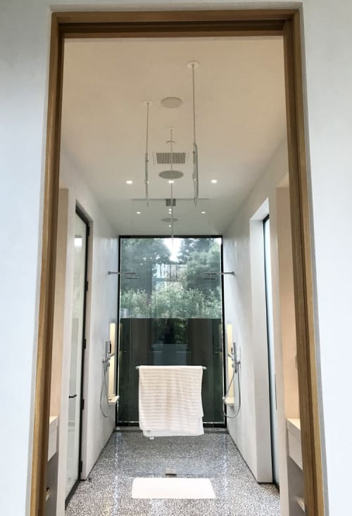 Lighting by Jess Wainer at Private Residence, Atherton - Cloud Panes