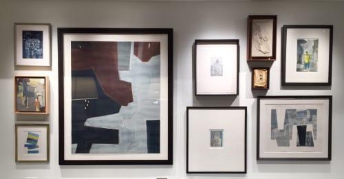 Paintings by Rob Delamater at Banana Republic, New York - Various works