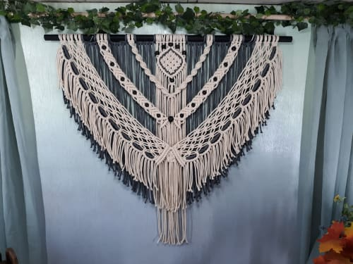 Macrame Wall Hanging by Desert Indulgence seen at Private Residence - International Order