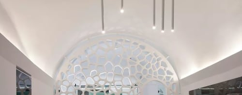 Pendants by Light in Space seen at Santorini Grace Villas, Panagia Kalou - Pendant Lighting