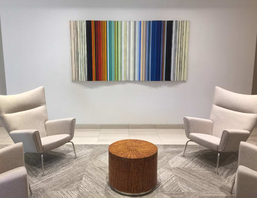 Paintings by Roi James Studio seen at Durbin Bennett Private Wealth Management, Austin - Commissioned Construct
