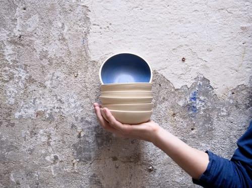 Ceramic Plates by Turbot Design seen at Barcelona, Barcelona - Stoneware bowl