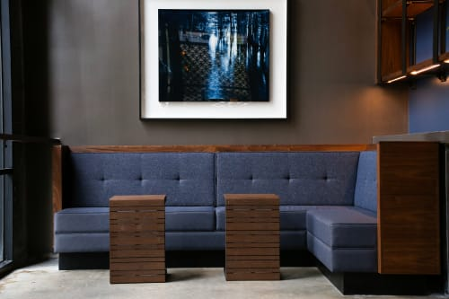 Furniture by GoodWood seen at Tsunami, New Orleans - Tsunami Sushi | Upholstered Banquettes
