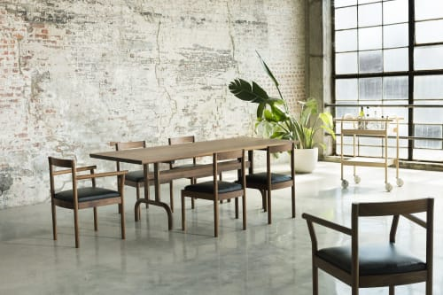 Tables by Bowen Liu seen at Brooklyn, Brooklyn - Feast Dining Table