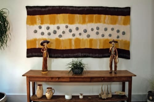 Wall Hangings by Elizabeth Clayman seen at Private Residence, London - Wall Hanging I