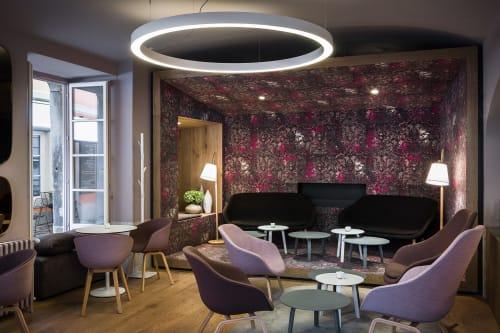 Interior Design by AKSL arhitekti seen at Čokoladni Atelje Dobnik, Ljubljana - Cafe & Patisserie Dobnik