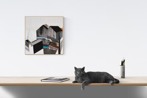 Paintings by Ramon I. Bonilla seen at Creator's Studio, Denver - Divide