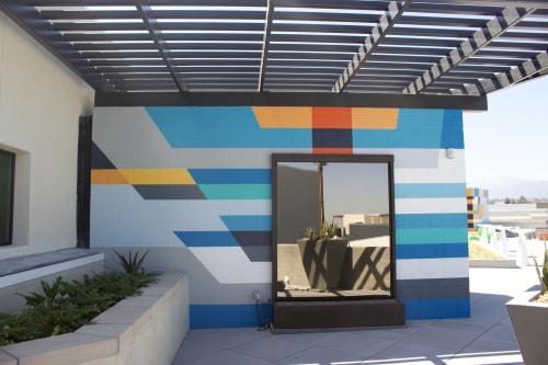 Murals by JESSUS HERNANDEZ seen at Metro at Main, Corona - Metro at Main Mural