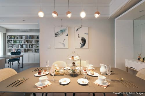 Pendants by SEED Design USA seen at 858 Lind Ave SW, Renton - DORA Pendant PL5