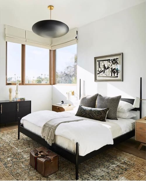 Beds & Accessories by Chris Earl seen at Private Residence, Venice - Danskbed