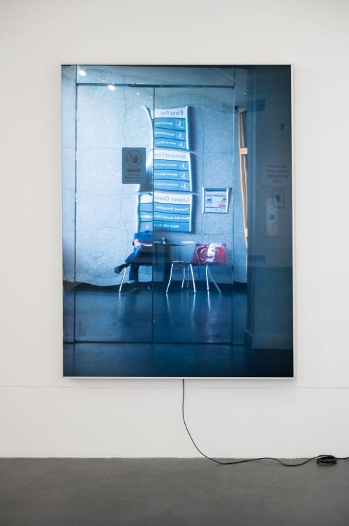 Photography by Locky Morris seen at FE McWilliam Gallery and Studio, Banbridge - La tête disparaît