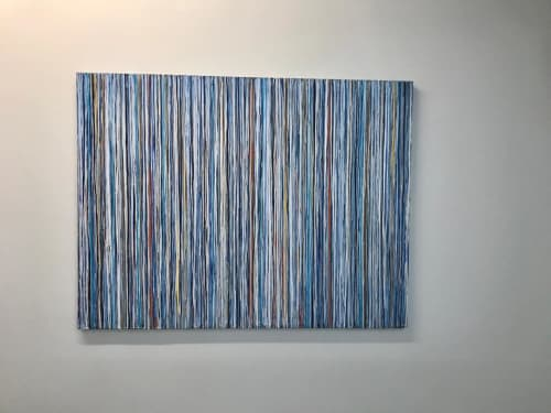 Paintings by Marthann Masterson seen at Private Residence, Houston - Moonlight Night