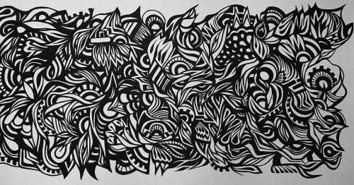Demencia Beivide - Murals and Art