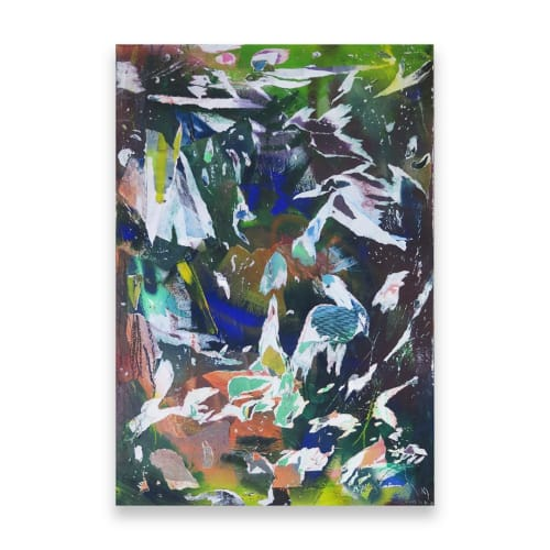 Paintings by Simon Beuve seen at Melbourne, Melbourne - Regrowth