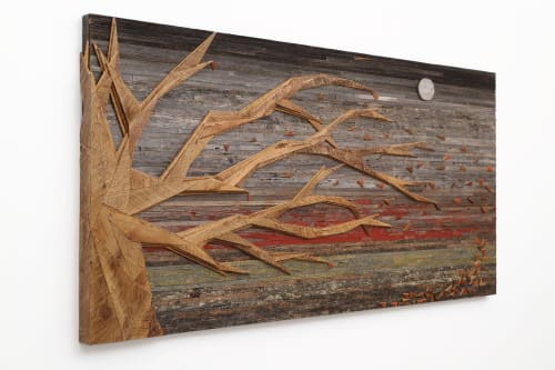 Sculptures by Craig Forget seen at 948 Lakeshore Rd 107, Essex - Autumn Bliss