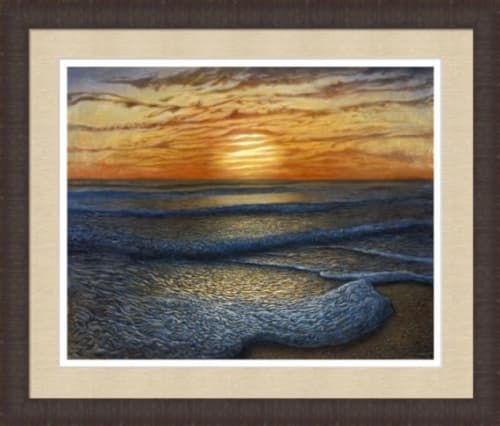 Paintings by Jay Alders seen at Private Residence, Manasquan - Ripple Effect