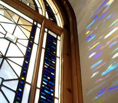 Art & Wall Decor by Stephen Weir Stained Glass seen at Private Residence, Glasgow - Stained glass hall window