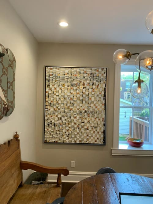 Paintings by Novei Beige seen at Private Residence, St. Louis - Notions