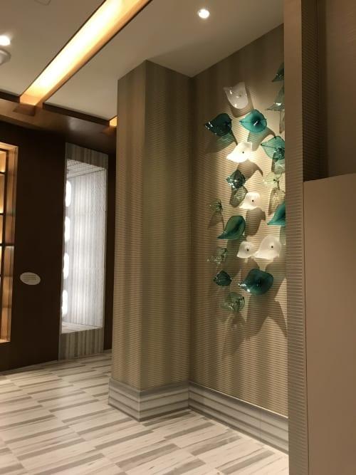 Sculptures by Soffi Studio seen at Seminole Hard Rock Hotel & Casino Tampa, Tampa - Leaves