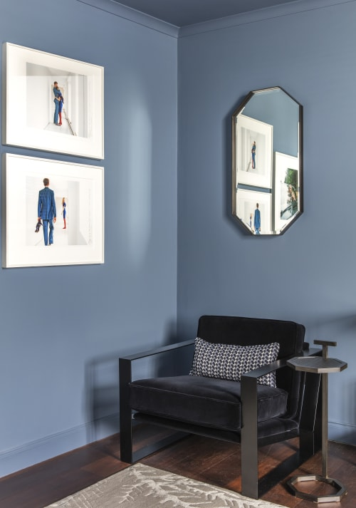 Furniture by Casa Botelho seen at Private Residence, London - Eros Mirrors