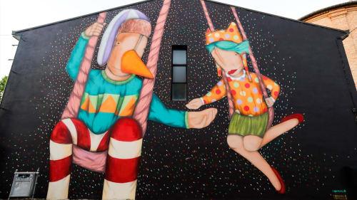 Tony Gallo - Street Murals and Murals