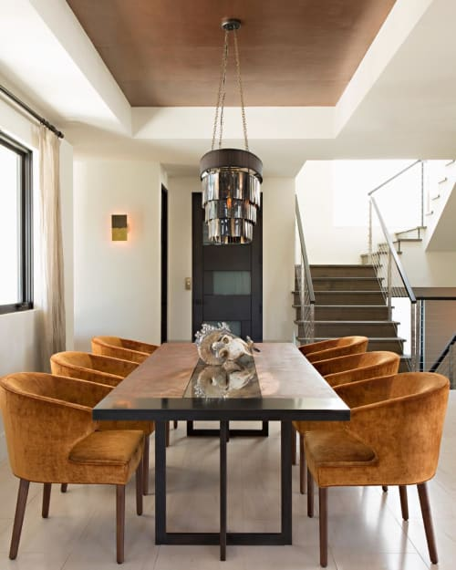 Tables by Moniker Design seen at Private Residence, Coronado - Custom Table