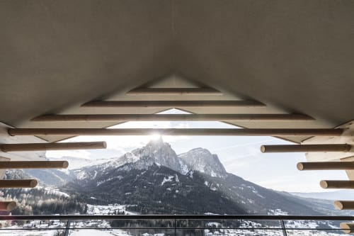 Architecture by noa* network of architecture seen at Hotel Valentinerhof, Siusi - Valentin #2: The silent theatre