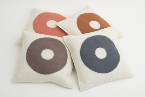 Pillows by M&Otto Design seen at Private Residence, Arâches-la-Frasse - Maya Pillow
