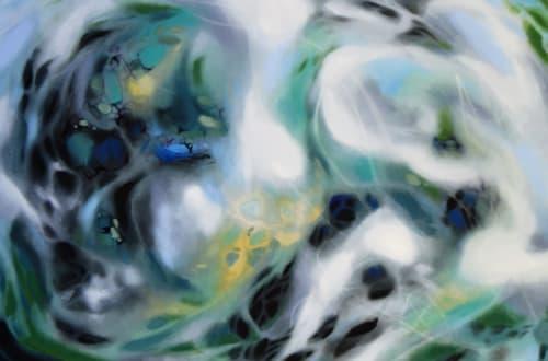 Paintings by Lisa Rachel Horlander seen at WorkHub, Tyler - Perception