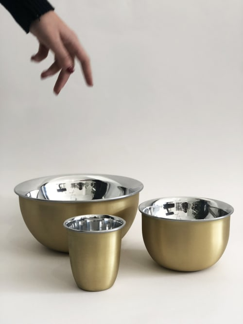 Beds & Accessories by 1Nayef Francis seen at Nayef Francis Design Studio, Beirut - Chafe Bowls