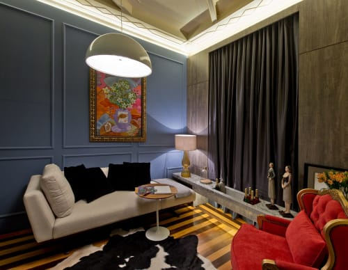Interior Design by Gabriel Hering seen at Private Residence, Florianópolis - Living Room