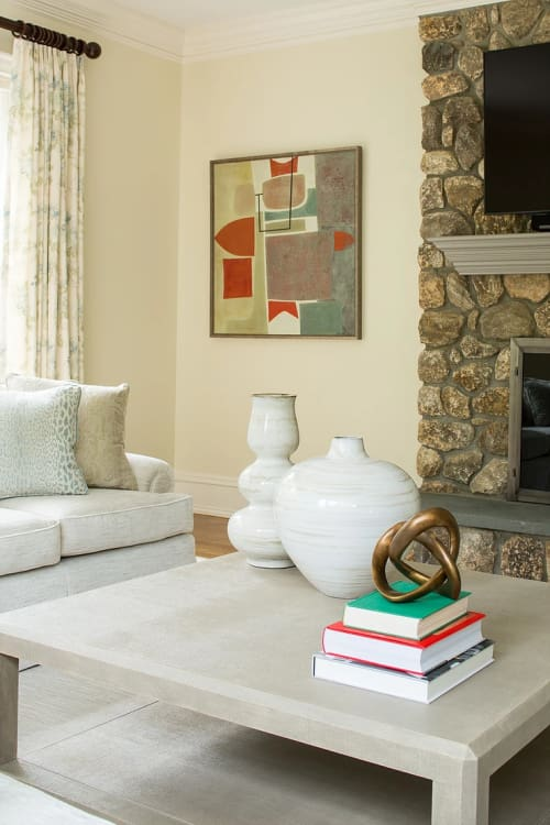 Paintings by Stanley Bate seen at Private Residence, New Canaan - Zumi