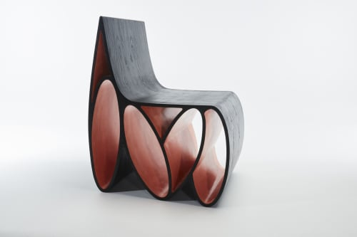 Chairs by Jason Mizrahi seen at Private Residence, Hollywood Hills, Los Angeles - Loop Chair